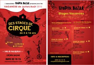 Stage fabrication d'instruments de musique et stage de cirque